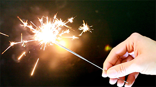 New Years Sparkler GIF